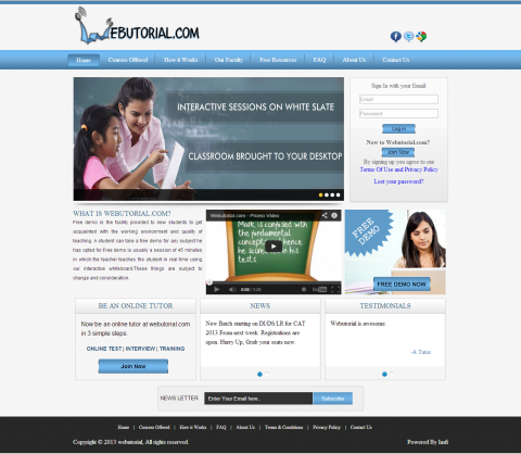 Web Tutorial